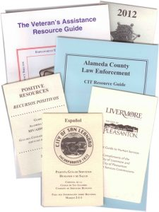 A sampling of customized directories and pamphlets