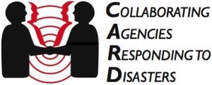 Collaborating Agencies Responding to Disasters Logo